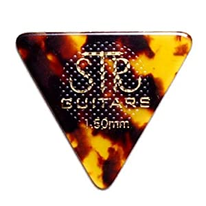 STR GUITARS Rubber Grip BASS PICK
