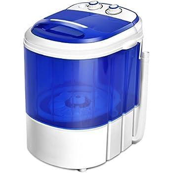 Amazon Com Costway Mini Washing Machine Portable Washer