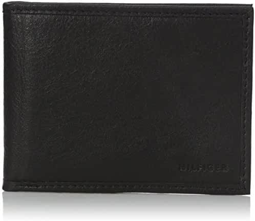 Tommy Hilfiger Men's Maddox Billfold Wallet with Money Clip