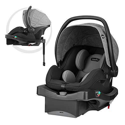 (Evenflo LiteMax DLX Infant Car Seat, Meteorite)