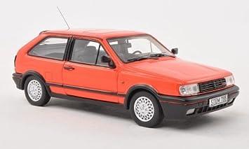 VW Polo IIF Coupe G40, rojo claro , 1991, Modelo de Auto, modello ...