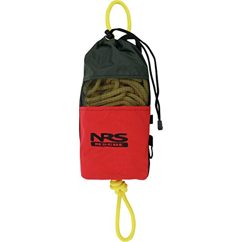 NRS Standard Rescue Throw Bag Red, 75ft Rescue Bag