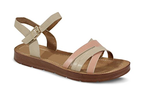 Mujer by Beige Sandalias Shoes para OqwaHt