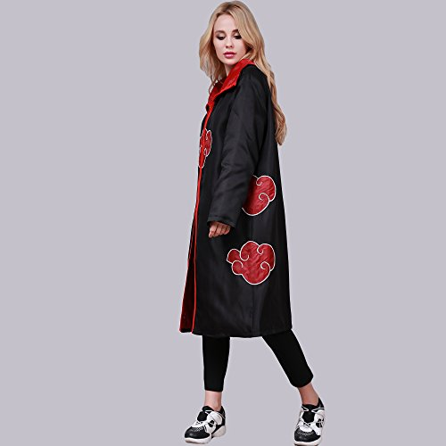 Nuages Dress Naruto Cloak Cosplay V Hengsong Halloween Up 4H6dxqw
