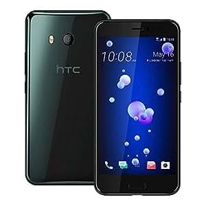 HTC U11 (U-3u) 6GB / 128GB 5.5-inches Dual SIM Factory Unlocked - International Stock No Warranty (Brilliant Black)