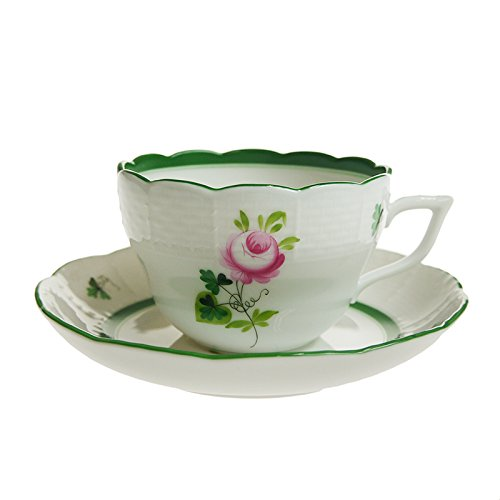 (Free Shipping Festival ] Herend (HEREND) VRH Vienna rose combined cup u0026 saucer 730 )