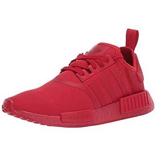 adidas Originals Men's NMD_R1 Sneaker, Scarlet/Scarlet/Scarlet, 4.5