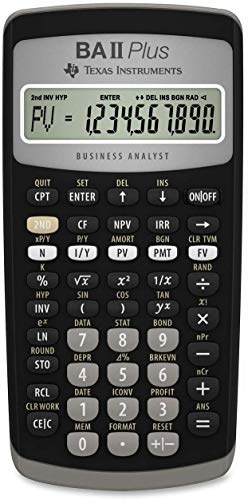 TEXBAIIPLUS - BAIIPlus Financial Calculator (Plus Ball Texas Instruments)