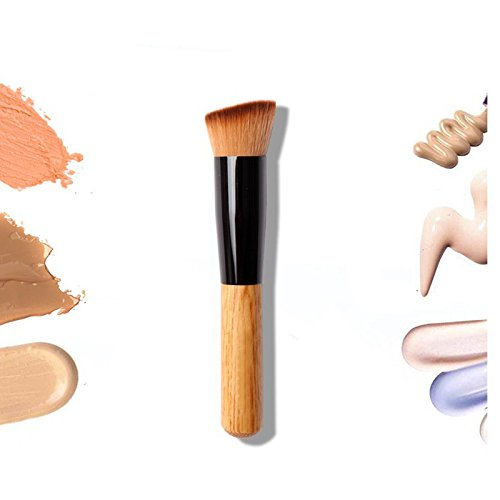 1PCS Multi-Function Pro Makeup Brushes Powder Concealer Blush Liquid Foundation Make up Brush Set Wooden Kabuki Brush Cosmetics (Travel Mason Pearson Brush)