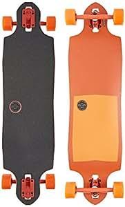 Globe Sledgehog Complete Longboard Skateboard, 10 x 37.5, Tart Orange by Globe
