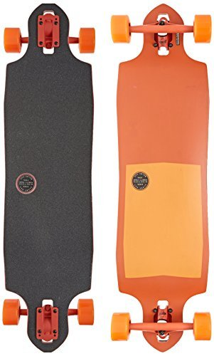 Globe Sledgehog Complete Longboard Skateboard, 10 x 37.5, Tart Orange by Globe