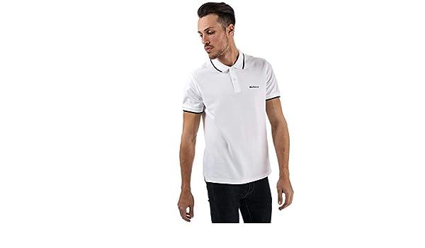 Ben Sherman - Polo - para Hombre Blanco Blanco XL: Amazon.es: Ropa ...