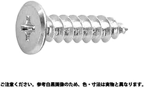 (+)スリムヘッドAタッピン 表面処理(BK(SUS黒染、SSブラック)) 材質(ステンレス) 規格(4X12) 入数(500)