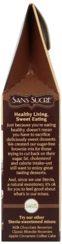 Sans Sucre Chocolate Fudge Brownie Mix, 8-Ounce (Pack of 6) by Sans Sucre (Image #3)