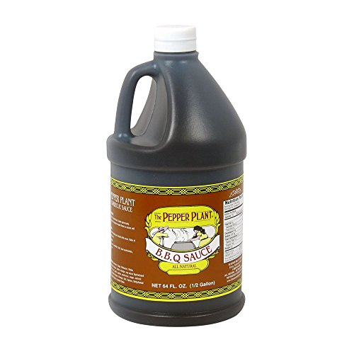 (The Pepper Plant BBQ Sauce 1/2 Gallon Jug)
