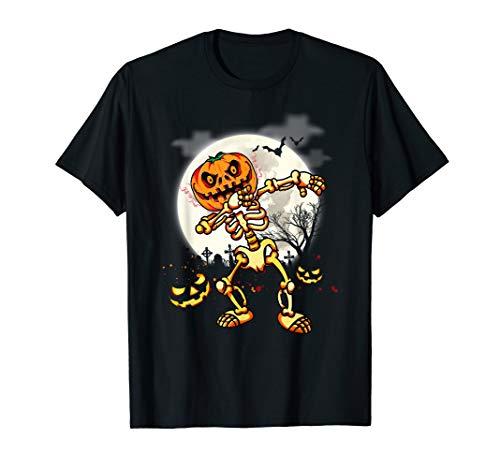Cool Pumpkin Ideas For Halloween (Dabbing Style Scary Bone Pumpkin Cool Idea Halloween Gifts)