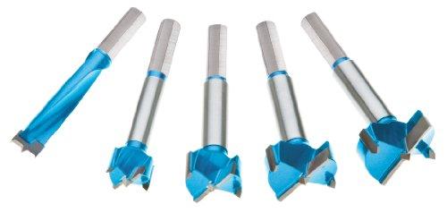 Carbide Cutting Forstner Bit (Roman Carbide DC1918 Carbide Forstner Bit Set, 1/2-Inch to 1-3/8-Inch, 5-Piece)