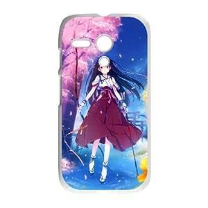 Motorola G Cell Phone Case Covers White anime Geisha ouiv