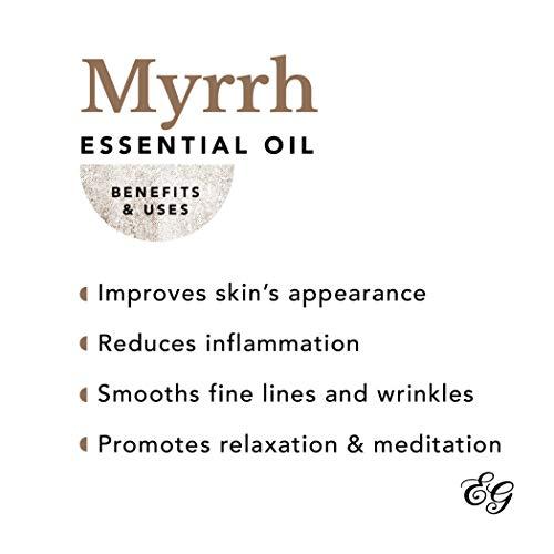 Edens Garden Myrrh 5 ml 100% Pure Undiluted Therapeutic Grade Essential Oil GC/MS Tested - incensecentral.us