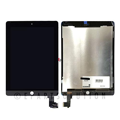 ePartSolution_Replacement Part for iPad Air 2 A1566 A1567 LCD Display Touch Screen Digitizer Glass Assembly USA (Black) by For Apple (Image #1)