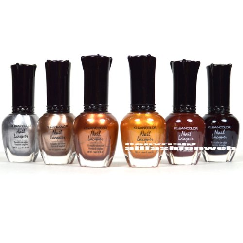 dark nail polish set - 5