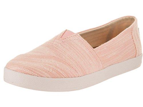 TOMS Women's Avalon Bloom Slubby Casual Shoe 9 Women - Pink Tom