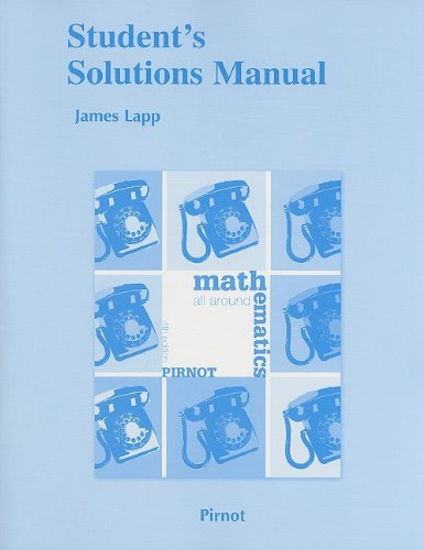 Student Solutions Manual for Mathematics All Around