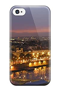 High Impact Dirt/shock Proof Case Cover For Iphone 4/4s (city Of Paris )