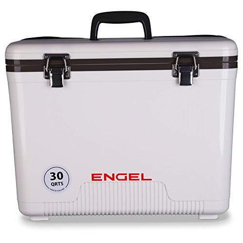 Engel Ultra-Cool UC30 Ultimate Air Tight Ice/Dry Box Cooler, 30-Quart