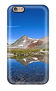Hot Tpu Cover Case For Iphone/ 6 Case Cover Skin - Mountain Earth Nature Mountain