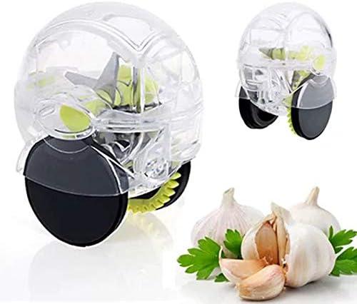 Practical Garlic Chopper Crusher Roller Type Garlic Press Kitchen Accessories