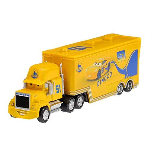 JefreyF Diecasts & Toy Vehicles - Disney Pixar Cars 2 3 Toys Lightning McQueen Jackson Storm Mack Uncle Truck 1:55 Diecast Model Car for Children 1 PCs -