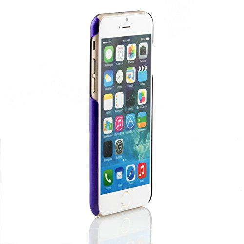 "iProtect housse de protection Clear Crystal Hard Case transparent pour Apple iPhone 6 (4,7"") en violet"