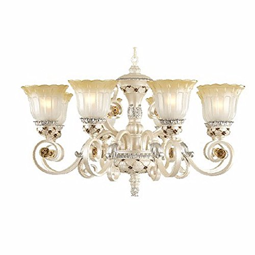 YanCui@ Rustic bedroom living room hotel rooms and restaurants in Europe and America resin wrought-iron chandelier,8lights