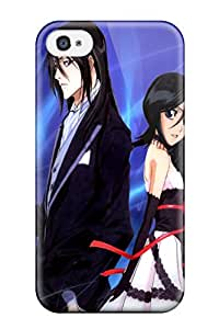 Hot Bleach Byakuyas First Grade Tpu Phone Case For Iphone 4/4s Case Cover