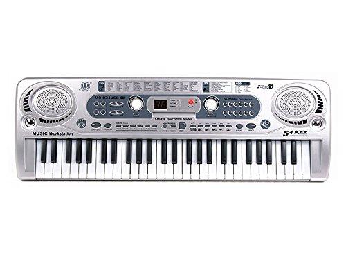 MQ-824USB 54 Key Childs Toy Electronic Keyboard - Music Workstation