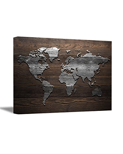 Awkward Styles World Map Wall Decoration World Map Wall Art