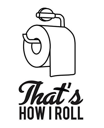 Designs by Maria Inc. Funny Bathroom Decor Typography ...