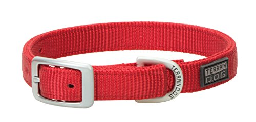 Terrain D.O.G. Nylon Double-Ply Dog Collar (Ply Two Leather Dog Collar)