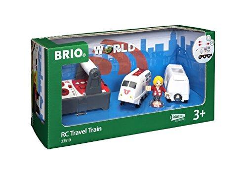 Wooden Remote Control Railway - BRIO Remote Control Travel Train