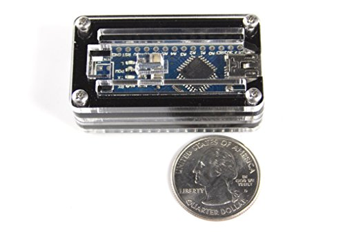 Arduino nano zebra black ice case by c labs