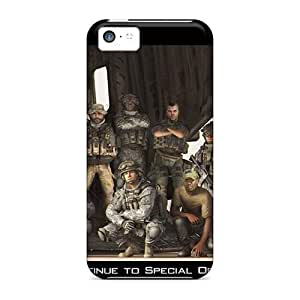 Hot Snap-on Modern Warfare Hard Cover Case/ Protective Case For Iphone 5c