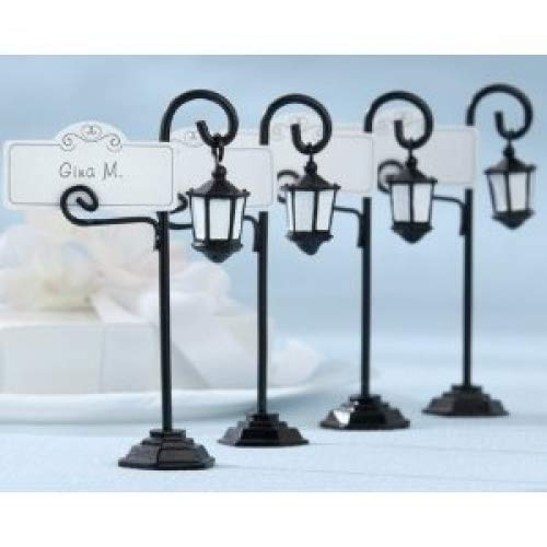 Bourbon Street Streetlight Place Card Holder with Coordinating Place Cards (Set of ()