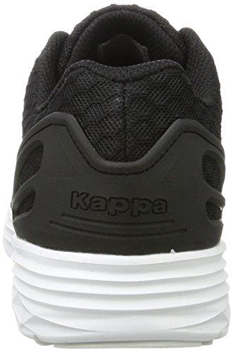 Kappa Trust 1.2, Zapatillas Unisex Adulto Negro (1110 Black/white)