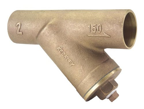 Keckley Y Strainer 0.750 in 125 lb Bronze Solder Joint by Keckley Company