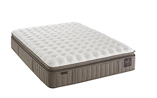 Stearns and Foster Estate Oak Terrace 14.5-inch Luxury Cushion Firm Euro Pillow Top Mattress, ()