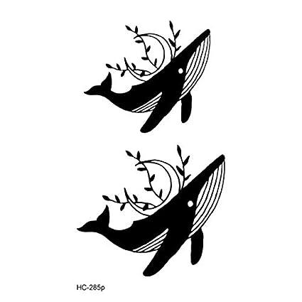 Etiqueta engomada del tatuaje a prueba de agua Pop Ballet Negro ...