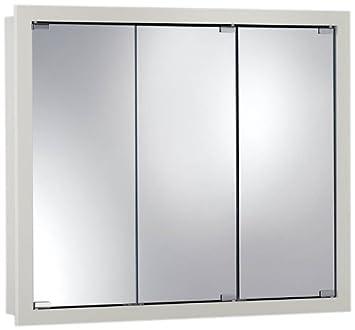 Jensen 740605 Granville Oversize Medicine Cabinet, Classic White, 36 Inch  By 30