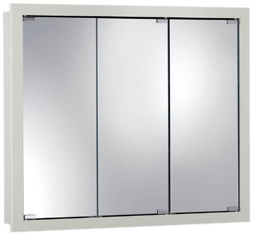 Jensen 740605 Granville Oversize Medicine Cabinet, Classic White, 36-Inch by 30-Inch by 4-3/4-Inch