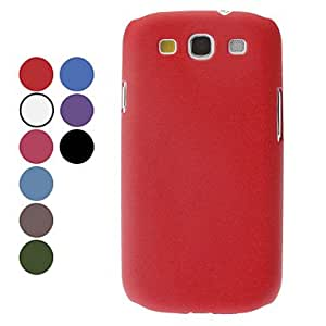 Solid Color Hard Case for Samsung Galaxy S3 I9300 (Assorted Colors) --- COLOR:Brown